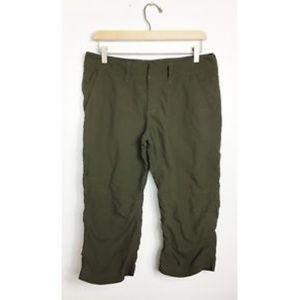 THe North Face Nylon Capris Pants Cropped Sz 10